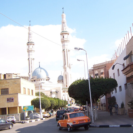 streetscape of Ismalia in the region between Maghfar and Lake Timsah