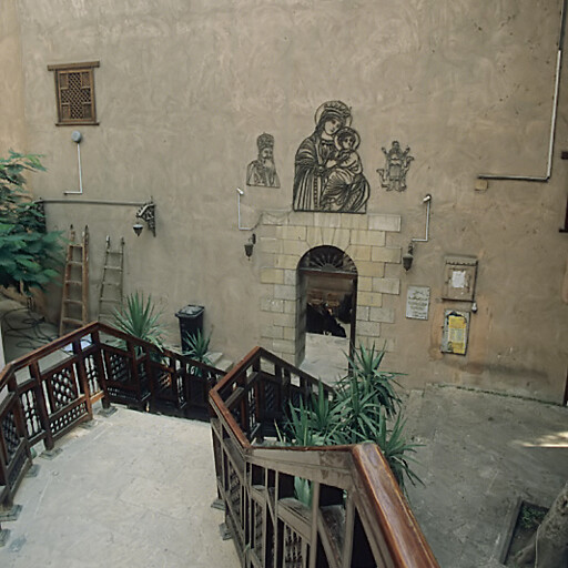 church at Babylon el Darag