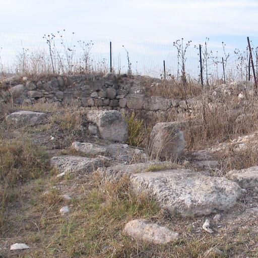 ruins at Tel Hanaton