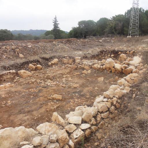 ruins at Tel Akko