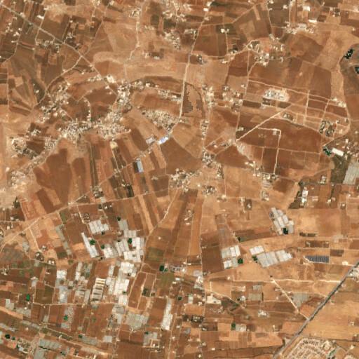 satellite view of the region around Barazen