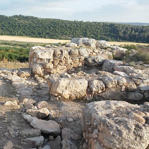 ruins at Tel Yarmuth