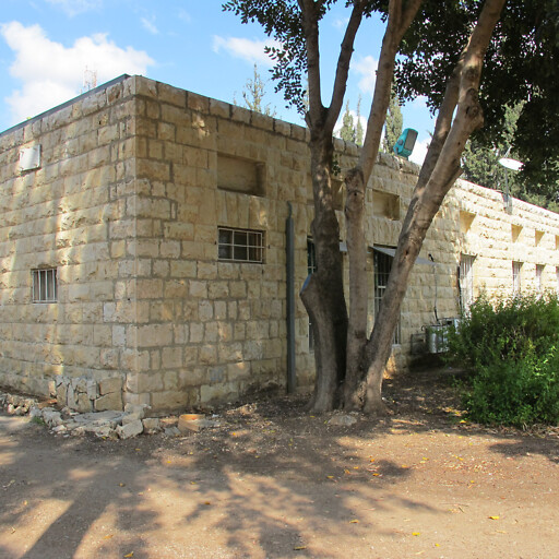 building at Beit Nabala