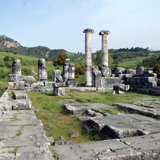 ruins at Sardis