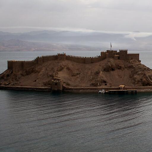 panorama of Jezirat Faraun