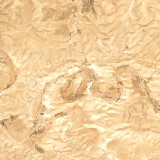 satellite view of the region around Khirbet el Medeiyineh