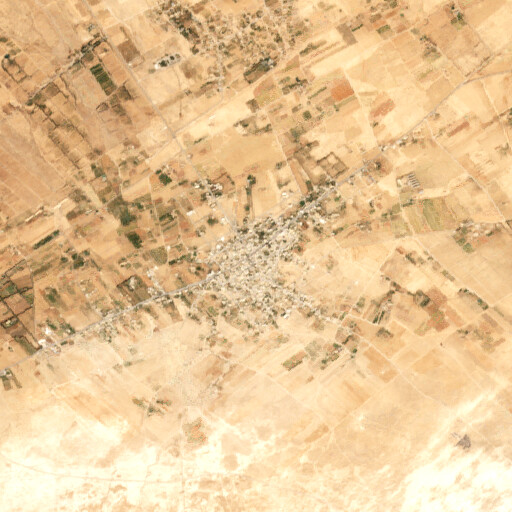 satellite view of the region around Zifran