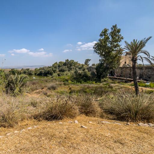 building at Tel Afek
