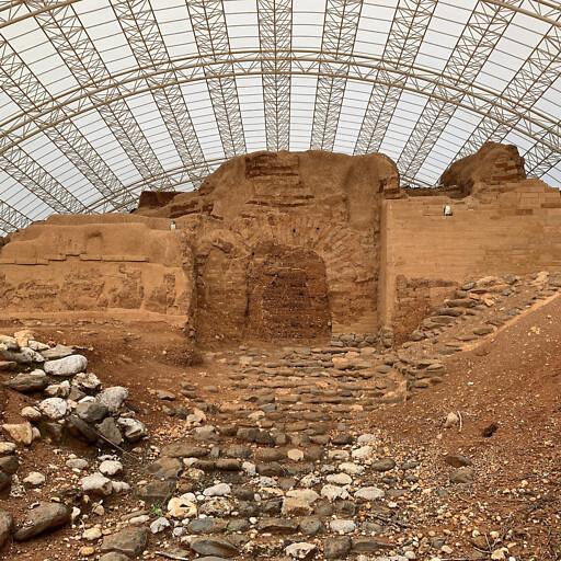 gate at Tel Dan