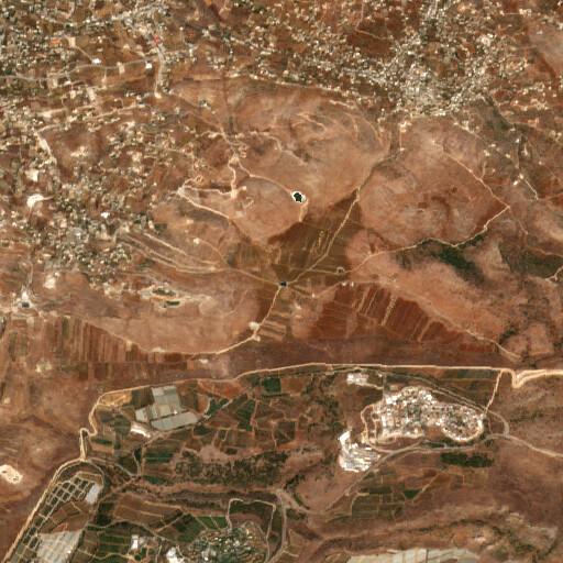 satellite view of the region around Birket Hafour el Ahmar