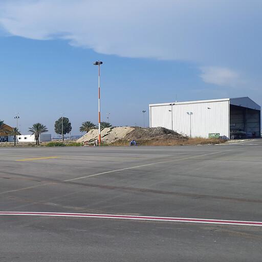 airport building at Khirbet Sabiyeh