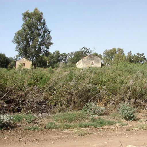 buildings at Tel Na'ama