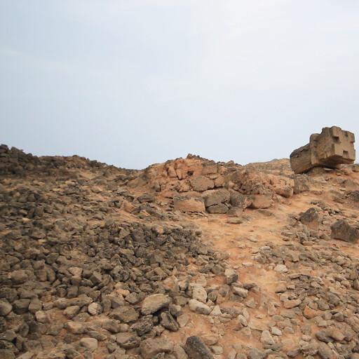 ruins at Al Baleed