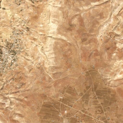 satellite view of the region around Tell el Mise