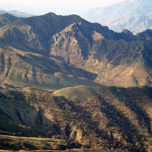 panorama of a mountain in El Gebal
