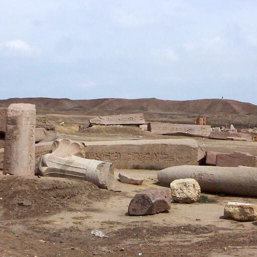 ruins at Tanis