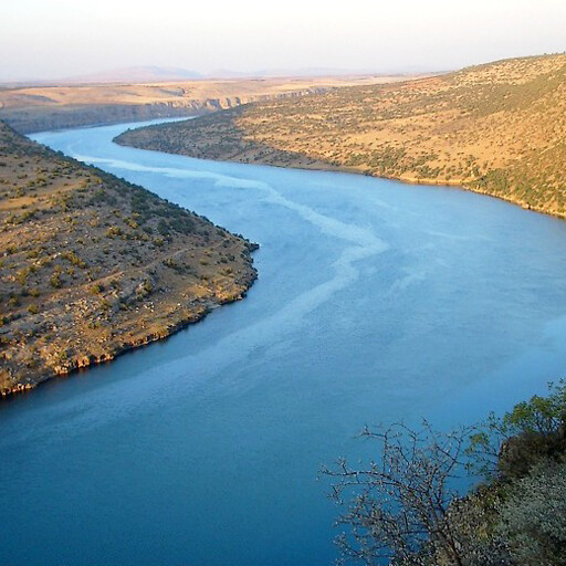 panorama of the Euphrates River