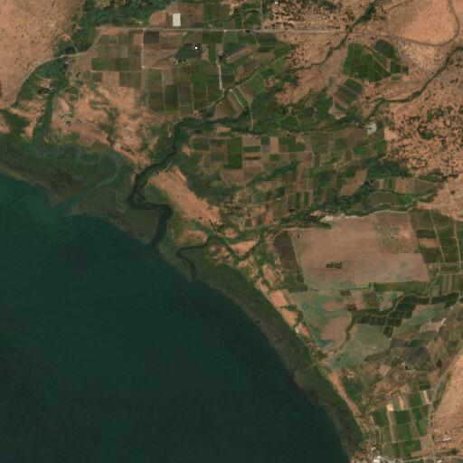 satellite view of the region around El Mess'adiyye