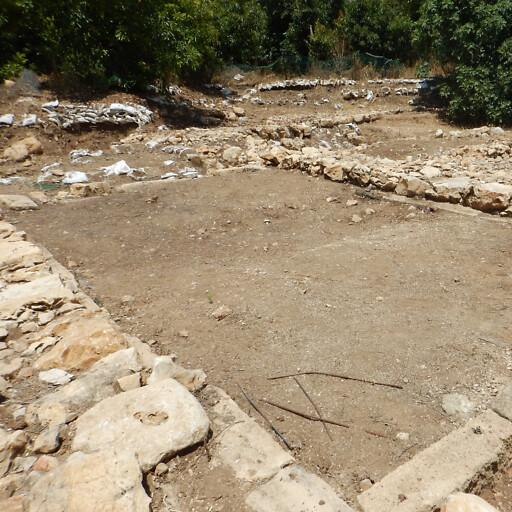 ruins at Tel Kabri