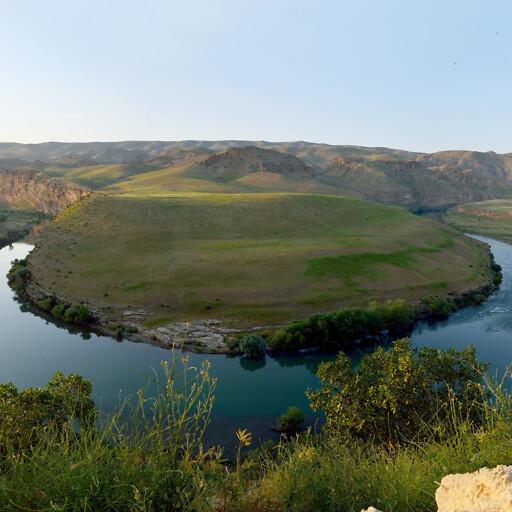 panorama of the Tigris River