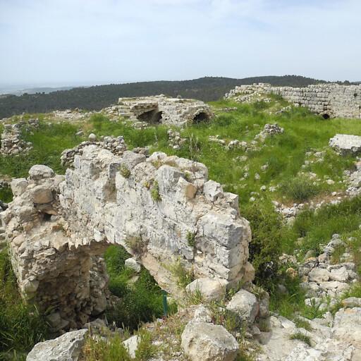 ruins at Bayt Itab
