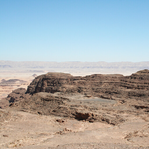 panorama of Debbet er Ramleh