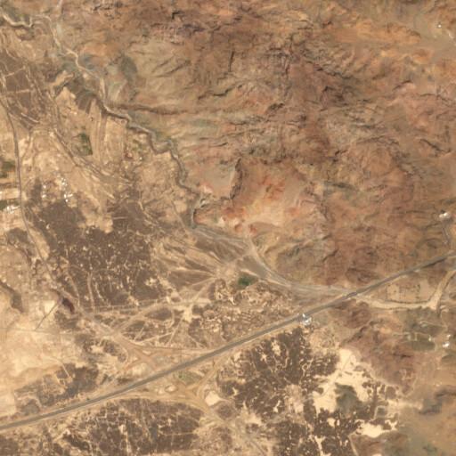 satellite view of the region around Azalla