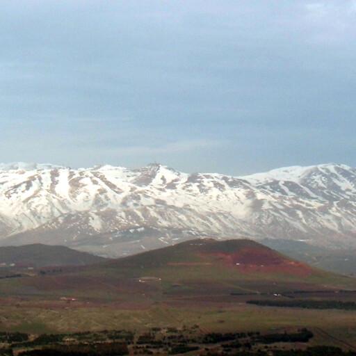 panorama of Mount Hermon