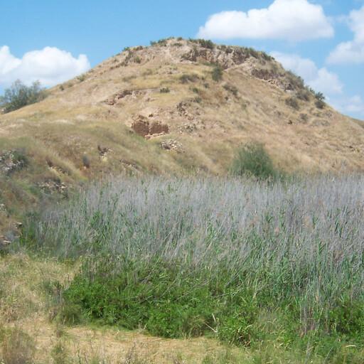 panorama of Tel Hasi