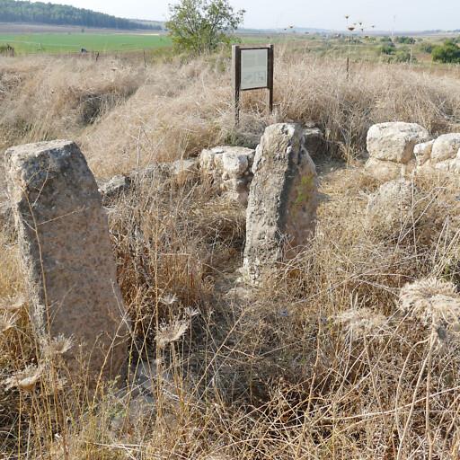 ruins at Tel Batash