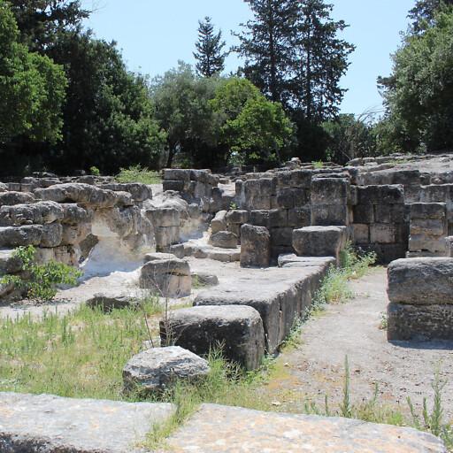 ruins at Beit Shearim