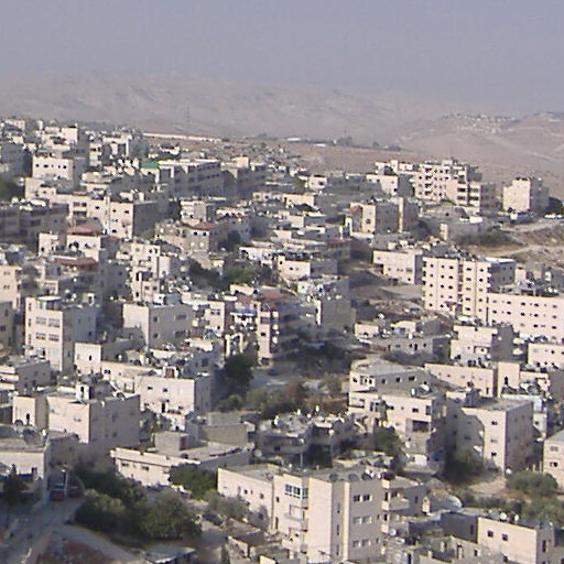 cityscape looking east including Ain el Madauwerah, which is not visible at center right