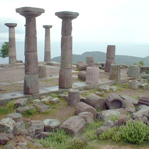 ruins at Assos