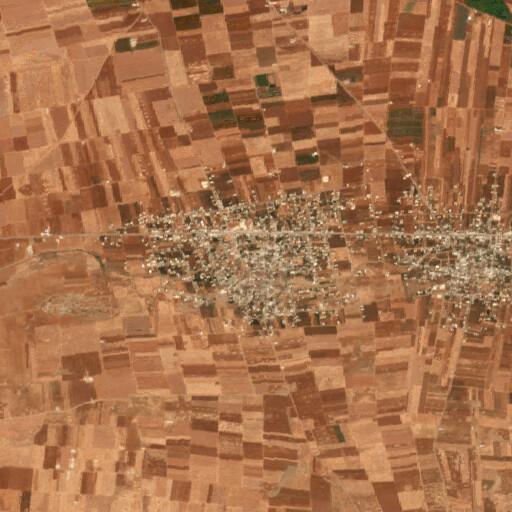 satellite view of the region around Alma