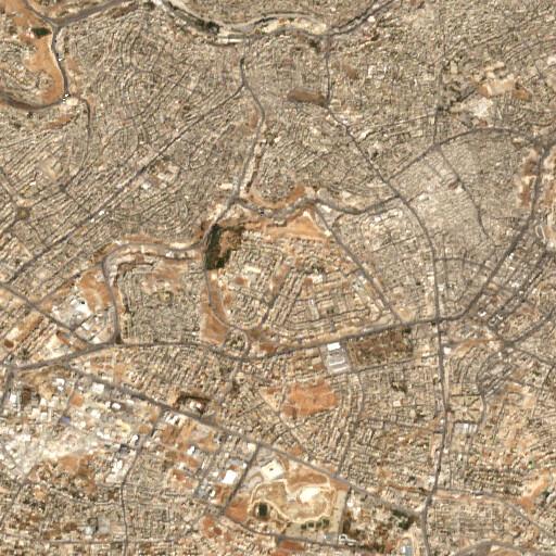 satellite view of the region around Umm Sweiwineh