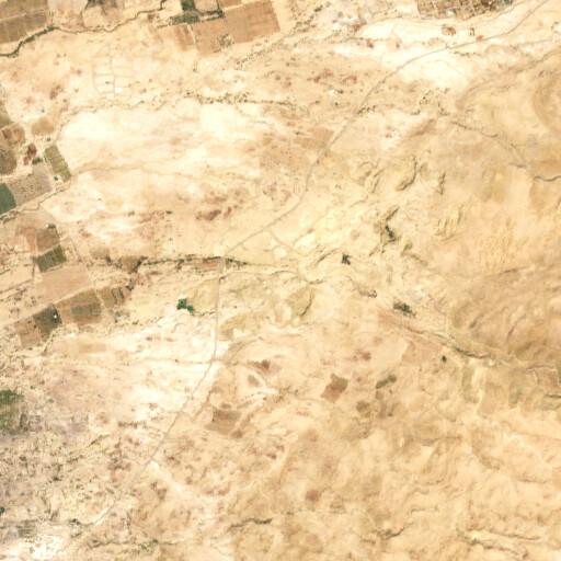 satellite view of the region around Tell Azeimeh