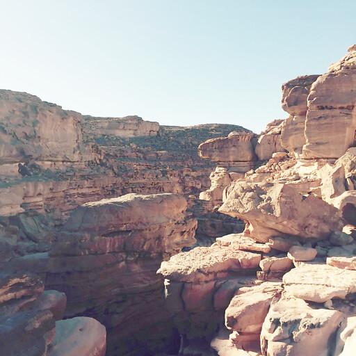cliff at Ain el Khadra