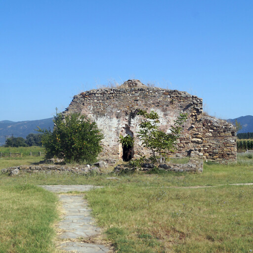 building at Apollonia