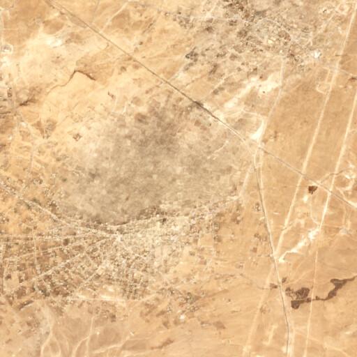 satellite view of the region around Hoba