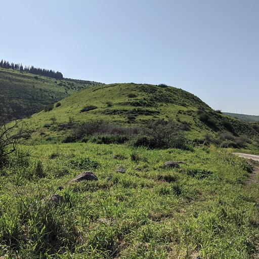 panorama of Tell Rekhesh