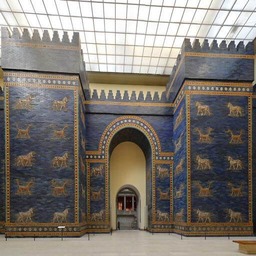 Ishtar gate from Babylon