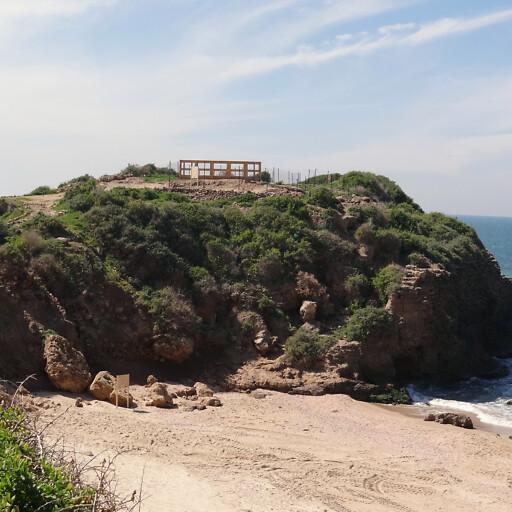 panorama of Yavne Yam