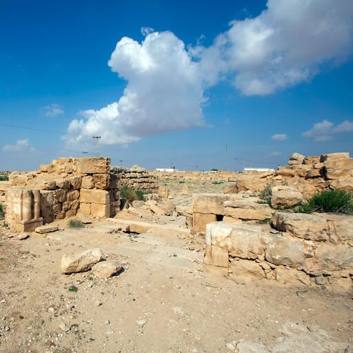 ruins at Umm el Walid