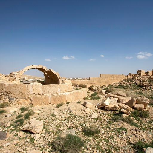 ruins at Udruh