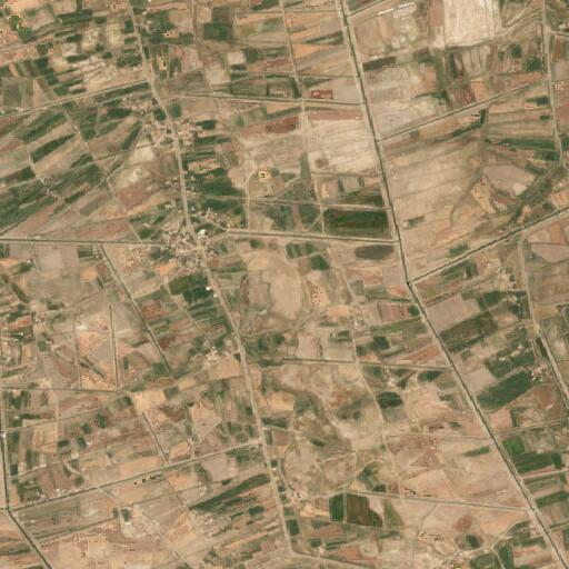 satellite view of the region around Tulul Dura