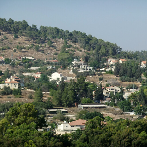 cityscape of Eshtaol