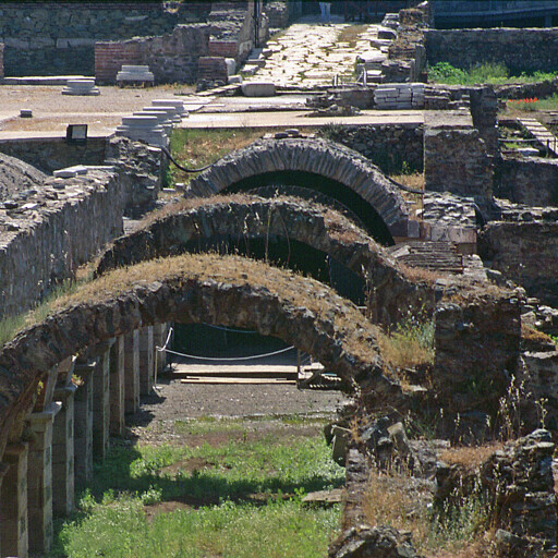 ruins at Thessaloniki