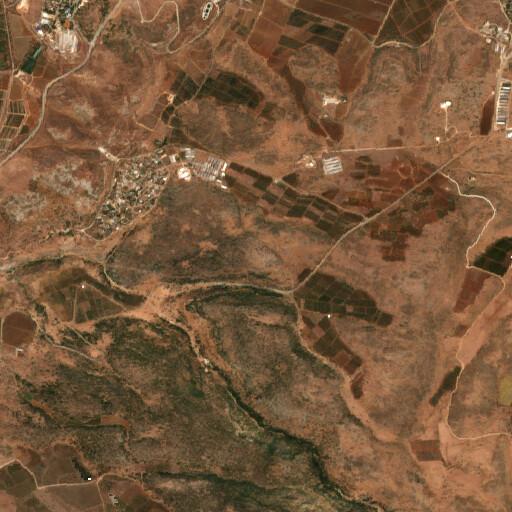 satellite view of the region around Har Zevi