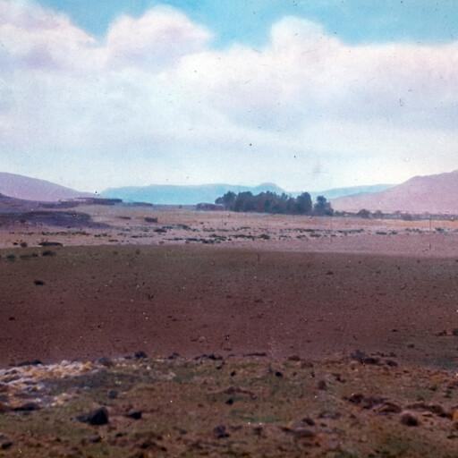 panorama from Ain Qoseimeh