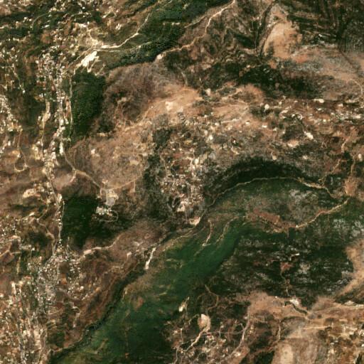 satellite view of the region around Luweizeh